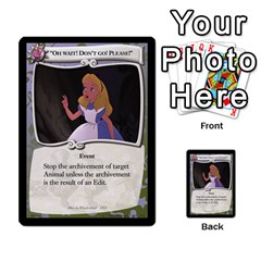 Alice In Wonderland 4 Of 6 By Orion s Bell   Multi Purpose Cards (rectangle)   Tntjeq39oxd2   Www Artscow Com Front 8
