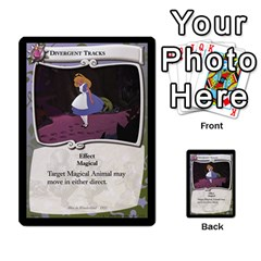 Alice In Wonderland 4 Of 6 By Orion s Bell   Multi Purpose Cards (rectangle)   Tntjeq39oxd2   Www Artscow Com Front 9