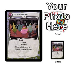 Alice In Wonderland 4 Of 6 By Orion s Bell   Multi Purpose Cards (rectangle)   Tntjeq39oxd2   Www Artscow Com Front 16