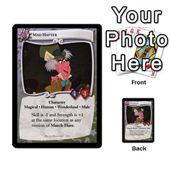 Alice In Wonderland 4 Of 6 By Orion s Bell   Multi Purpose Cards (rectangle)   Tntjeq39oxd2   Www Artscow Com Front 20