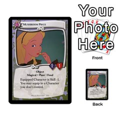 Alice In Wonderland 4 Of 6 By Orion s Bell   Multi Purpose Cards (rectangle)   Tntjeq39oxd2   Www Artscow Com Front 3