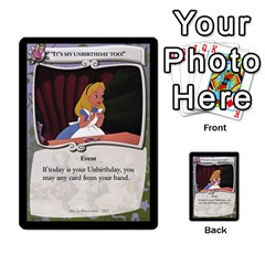 Alice In Wonderland 4 Of 6 By Orion s Bell   Multi Purpose Cards (rectangle)   Tntjeq39oxd2   Www Artscow Com Front 23