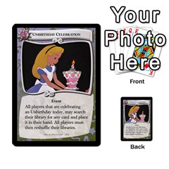 Alice In Wonderland 4 Of 6 By Orion s Bell   Multi Purpose Cards (rectangle)   Tntjeq39oxd2   Www Artscow Com Front 25