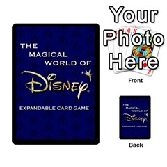 Alice In Wonderland 4 Of 6 By Orion s Bell   Multi Purpose Cards (rectangle)   Tntjeq39oxd2   Www Artscow Com Back 30