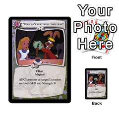 Alice In Wonderland 4 Of 6 By Orion s Bell   Multi Purpose Cards (rectangle)   Tntjeq39oxd2   Www Artscow Com Front 31