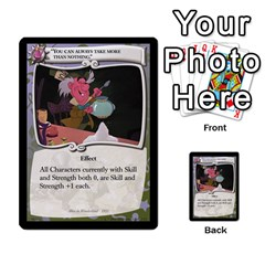 Alice In Wonderland 4 Of 6 By Orion s Bell   Multi Purpose Cards (rectangle)   Tntjeq39oxd2   Www Artscow Com Front 32