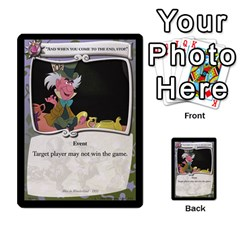 Alice In Wonderland 4 Of 6 By Orion s Bell   Multi Purpose Cards (rectangle)   Tntjeq39oxd2   Www Artscow Com Front 34