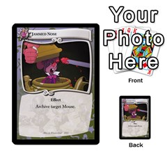 Alice In Wonderland 4 Of 6 By Orion s Bell   Multi Purpose Cards (rectangle)   Tntjeq39oxd2   Www Artscow Com Front 36