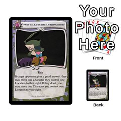 Alice In Wonderland 4 Of 6 By Orion s Bell   Multi Purpose Cards (rectangle)   Tntjeq39oxd2   Www Artscow Com Front 40