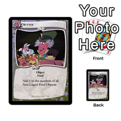 Alice In Wonderland 4 Of 6 By Orion s Bell   Multi Purpose Cards (rectangle)   Tntjeq39oxd2   Www Artscow Com Front 44