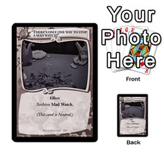Alice In Wonderland 4 Of 6 By Orion s Bell   Multi Purpose Cards (rectangle)   Tntjeq39oxd2   Www Artscow Com Front 49