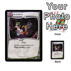 Alice In Wonderland 4 Of 6 By Orion s Bell   Multi Purpose Cards (rectangle)   Tntjeq39oxd2   Www Artscow Com Front 50