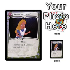 Alice In Wonderland 5 Of 6 By Orion s Bell   Multi Purpose Cards (rectangle)   Qp2ngwg0rw3c   Www Artscow Com Front 20