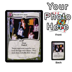 Alice In Wonderland 5 Of 6 By Orion s Bell   Multi Purpose Cards (rectangle)   Qp2ngwg0rw3c   Www Artscow Com Front 31
