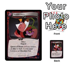 Alice In Wonderland 6 Of 6 By Orion s Bell   Multi Purpose Cards (rectangle)   Ccuwvaacedgi   Www Artscow Com Front 6