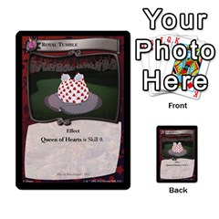 Alice In Wonderland 6 Of 6 By Orion s Bell   Multi Purpose Cards (rectangle)   Ccuwvaacedgi   Www Artscow Com Front 7