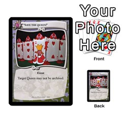 Alice In Wonderland 6 Of 6 By Orion s Bell   Multi Purpose Cards (rectangle)   Ccuwvaacedgi   Www Artscow Com Front 8