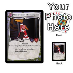 Alice In Wonderland 6 Of 6 By Orion s Bell   Multi Purpose Cards (rectangle)   Ccuwvaacedgi   Www Artscow Com Front 11