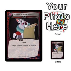 Alice In Wonderland 6 Of 6 By Orion s Bell   Multi Purpose Cards (rectangle)   Ccuwvaacedgi   Www Artscow Com Front 12
