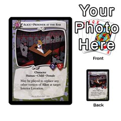 Alice In Wonderland 6 Of 6 By Orion s Bell   Multi Purpose Cards (rectangle)   Ccuwvaacedgi   Www Artscow Com Front 13