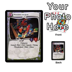 Alice In Wonderland 6 Of 6 By Orion s Bell   Multi Purpose Cards (rectangle)   Ccuwvaacedgi   Www Artscow Com Front 14