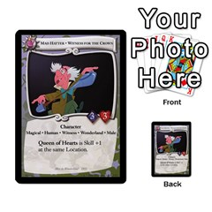 Alice In Wonderland 6 Of 6 By Orion s Bell   Multi Purpose Cards (rectangle)   Ccuwvaacedgi   Www Artscow Com Front 18