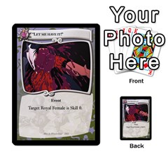 Alice In Wonderland 6 Of 6 By Orion s Bell   Multi Purpose Cards (rectangle)   Ccuwvaacedgi   Www Artscow Com Front 22