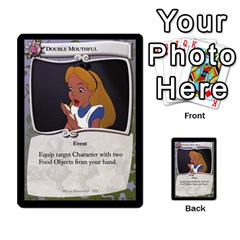 Alice In Wonderland 6 Of 6 By Orion s Bell   Multi Purpose Cards (rectangle)   Ccuwvaacedgi   Www Artscow Com Front 25