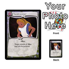 Alice In Wonderland 6 Of 6 By Orion s Bell   Multi Purpose Cards (rectangle)   Ccuwvaacedgi   Www Artscow Com Front 28