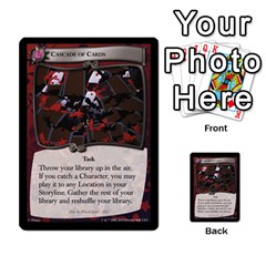 Alice In Wonderland 6 Of 6 By Orion s Bell   Multi Purpose Cards (rectangle)   Ccuwvaacedgi   Www Artscow Com Front 31