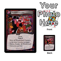 Alice In Wonderland 6 Of 6 By Orion s Bell   Multi Purpose Cards (rectangle)   Ccuwvaacedgi   Www Artscow Com Front 38