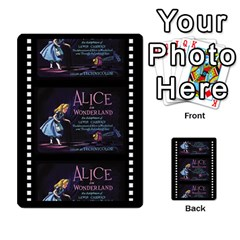 Alice In Wonderland 6 Of 6 By Orion s Bell   Multi Purpose Cards (rectangle)   Ccuwvaacedgi   Www Artscow Com Front 40
