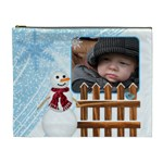 Let it Snow XL Cosmetic Bag - Cosmetic Bag (XL)