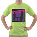 Film Noir Scene Green T-Shirt