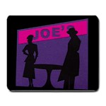 Film Noir Scene Large Mousepad