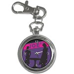Film Noir Scene Key Chain Watch