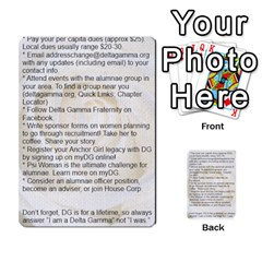 Lifetime Membership Cards By Christeena Tabor   Multi Purpose Cards (rectangle)   Mxkr66vu5cn3   Www Artscow Com Back 3
