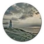 Peggy s Cove Lighthouse Round Mousepad