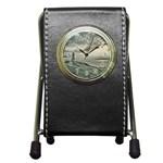 Peggy s Cove Lighthouse Pen Holder Desk Clock
