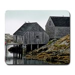 Peggy s Cove Dock Large Mousepad