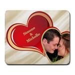 Love heart Mouse Pad - Large Mousepad