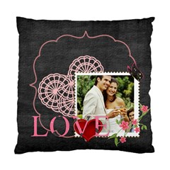 Love By Joely   Standard Cushion Case (two Sides)   Cs9owgum89pl   Www Artscow Com Front