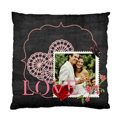 Love By Joely   Standard Cushion Case (two Sides)   Cs9owgum89pl   Www Artscow Com Back