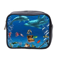 Deepsea1 By Chaido   Mini Toiletries Bag (two Sides)   Aym4e0i2dqdt   Www Artscow Com Front