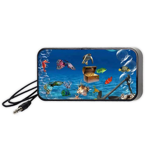 Fantasy By Chaido   Portable Speaker (black)   98qxwt959yqd   Www Artscow Com Front