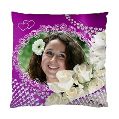 Love And Roses Cushion Case (2 Sided) By Deborah   Standard Cushion Case (two Sides)   Lg6czlaofucf   Www Artscow Com Front