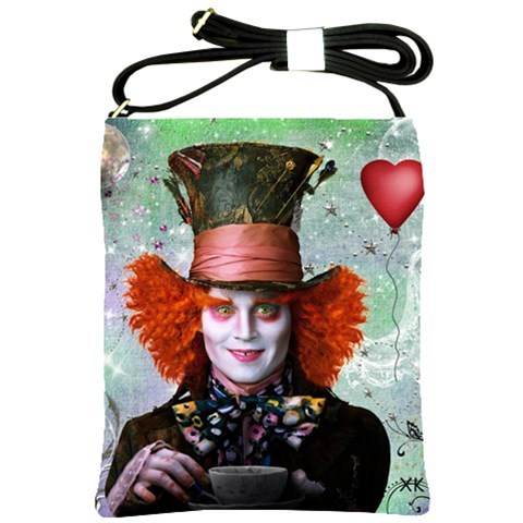 Alice In Wonderland 1 By Chaido   Shoulder Sling Bag   Iyf4xt081chf   Www Artscow Com Front