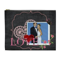 Love By Joely   Cosmetic Bag (xl)   J2wizd1bcpma   Www Artscow Com Front