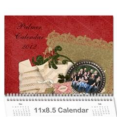 Mom By Alisha   Wall Calendar 11  X 8 5  (12 Months)   Isf4lmqa9vob   Www Artscow Com Cover