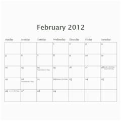 Mom By Alisha   Wall Calendar 11  X 8 5  (12 Months)   Isf4lmqa9vob   Www Artscow Com Feb 2012